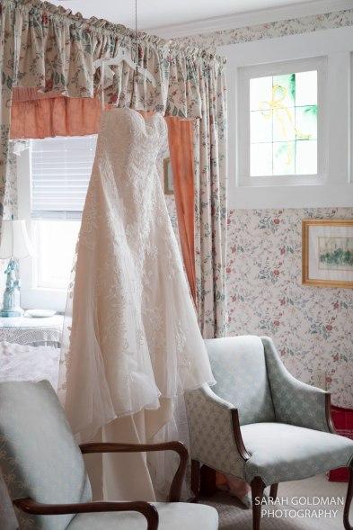 wedding dress at rockhill wedding