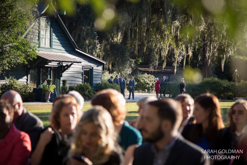 wedding at magnolia plantation