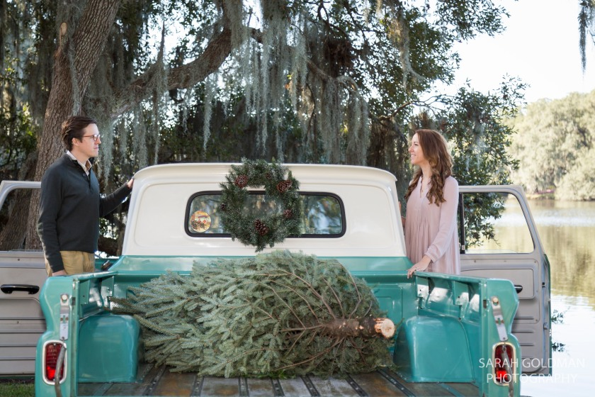 vintage truck mini session photos charleston sc