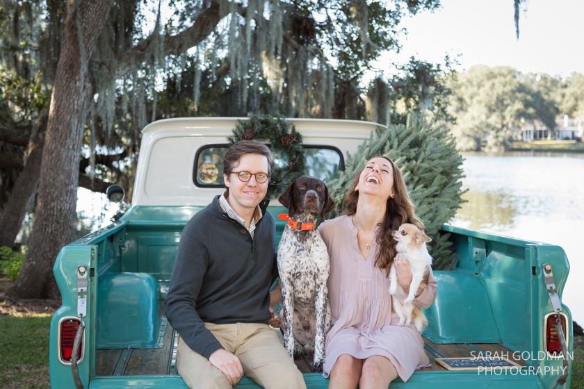 mini session with dogs charleston sc