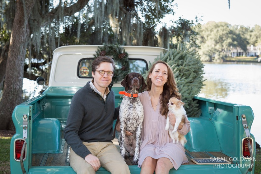 christmas mini sessions in charleston
