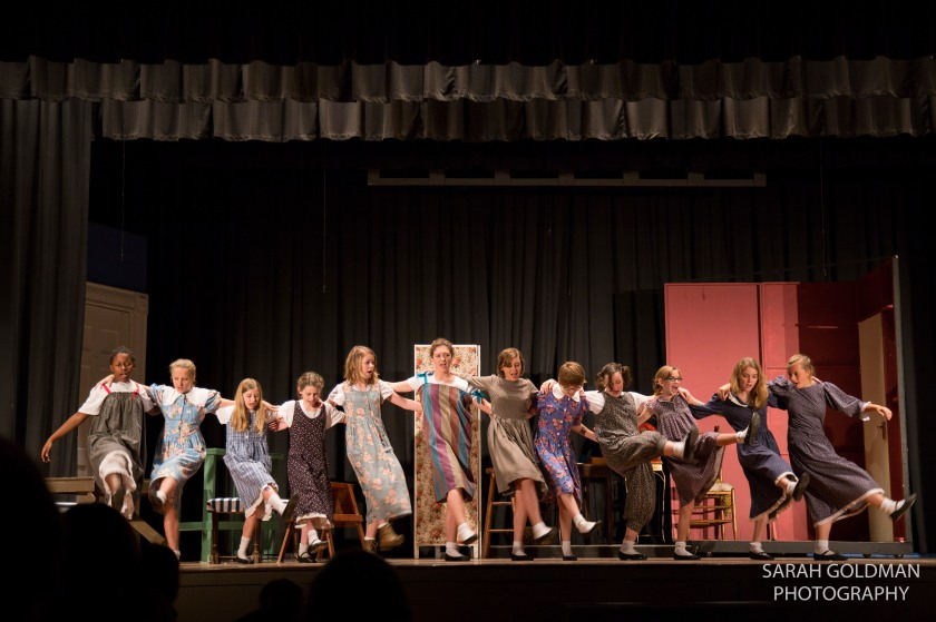 orphans dancing in fort johnson players production of annie
