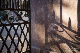 gate at College of Charleston