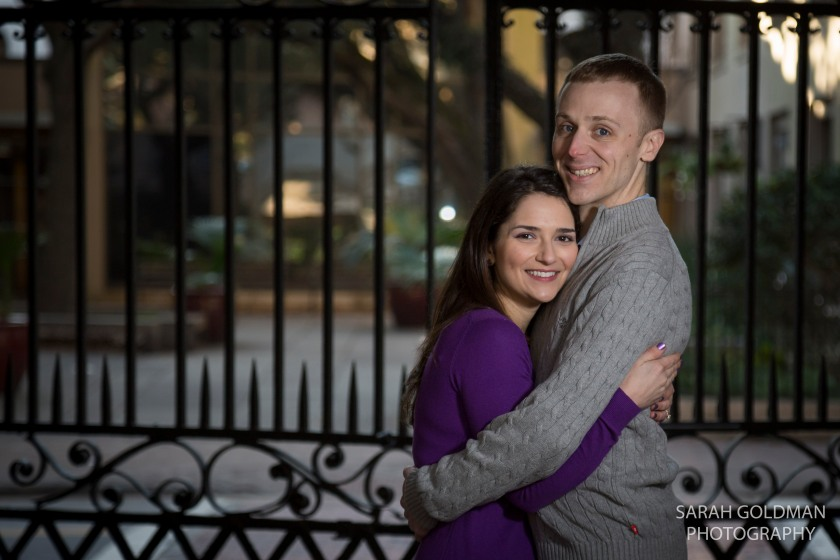 engagement photography in Charleston