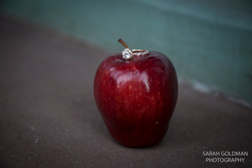 creative engagement ring photos