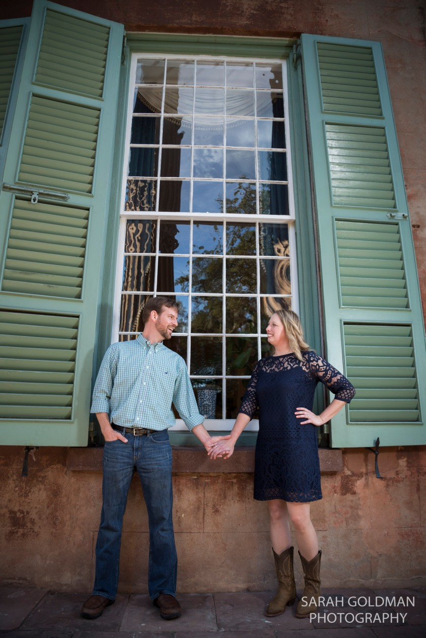 CofC engagement photo shoot