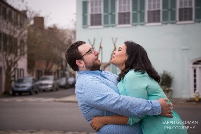 east bay street engagement photos