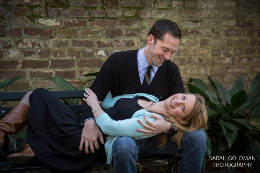 engagement session in unitarian church cemetery