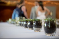 succulent centerpieces at charleston sc wedding