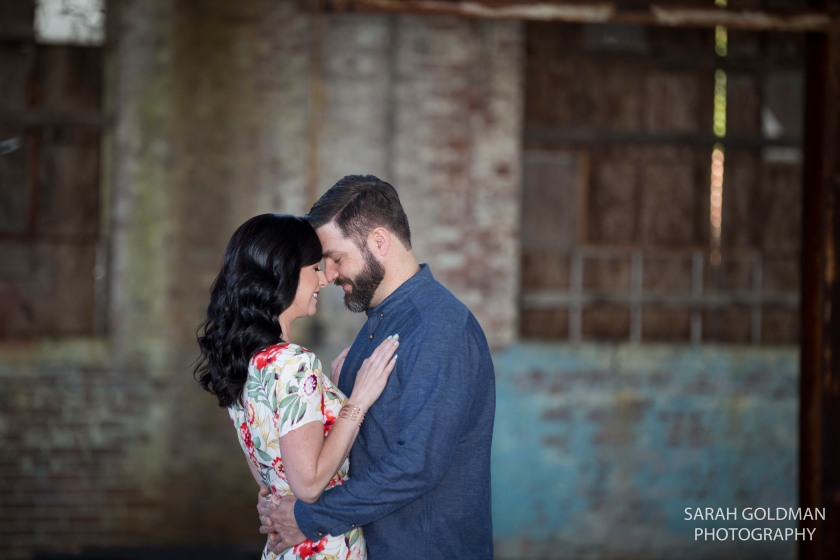 engaged couple in columbia sc