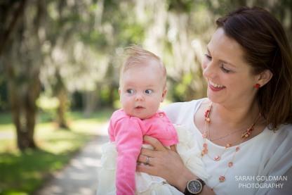mother daughter photos in hampton park