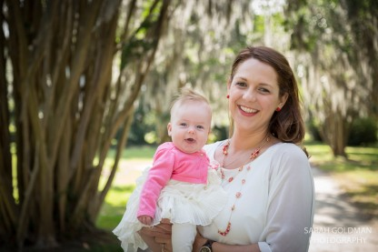 baby with her mom in charleston sc