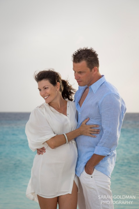 maternity photos in bonaire