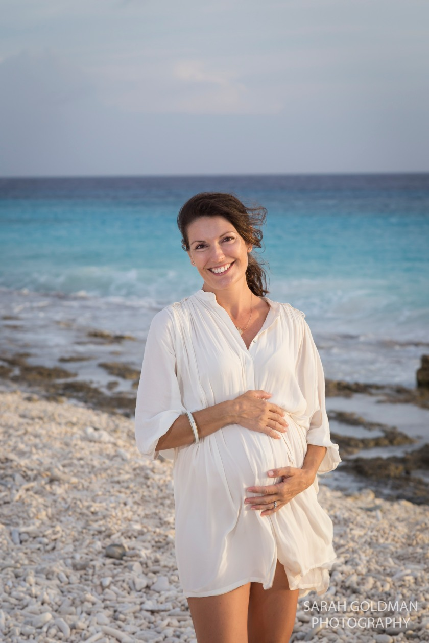 Caribbean maternity session