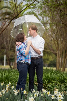 rainy day engagement
