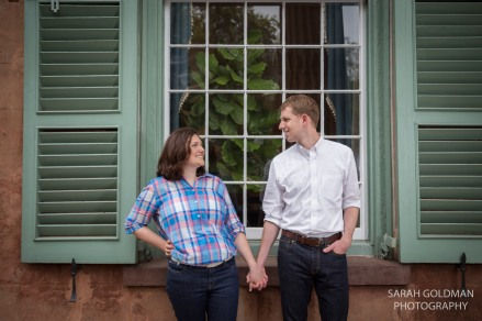 engagement photos at cofc cistern