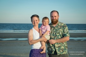 family pictures on folly beach sc