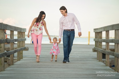 family photos in waterfront park in charleston sc