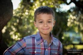 portrait of a young boy in hampton park sc