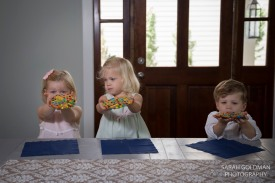 kids with cookies in mount pleasant house