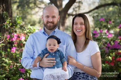 family photos in hampton park