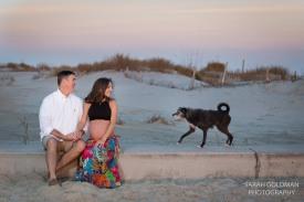 folly beach maternity photos