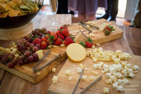 scott hall catering cheese and fruit