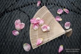 fan for wedding ceremony heat