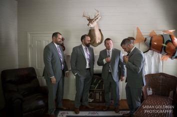 groomsmen at corley mill house