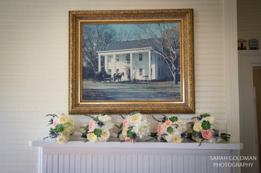 american floral bouquets at corley mill house
