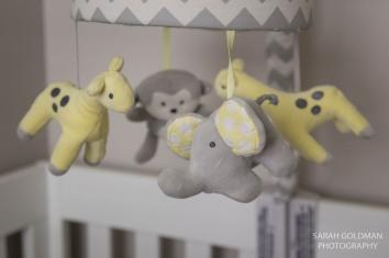 animal mobile for newborn crib