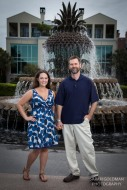 anniversary photos in waterfront park