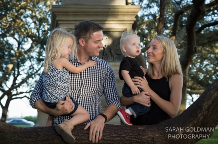 charleston family photos at white point gardens