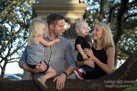 charleston family photos at white point gardens