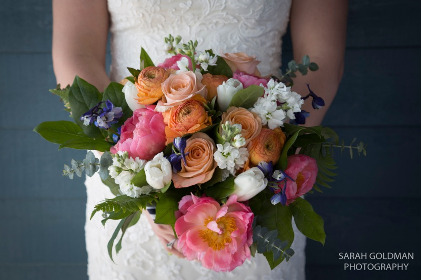 bridal bouquet by framptons in charleston sc