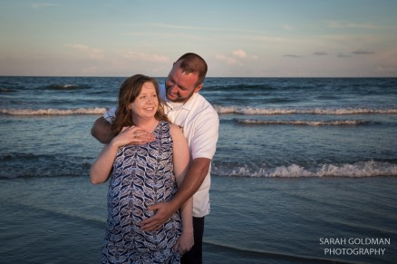 couple on folly beach