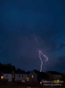 columbia sc lightning storm