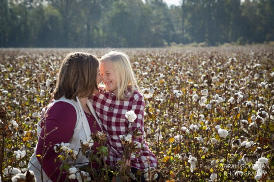 photos in a cotton field near columbia sc