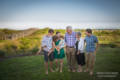 family photos at isle of palms