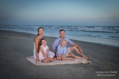family photos on the beach on Kiawah Island