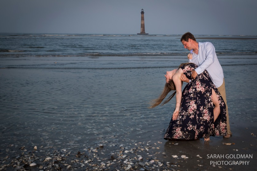 Folly Beach Engagement Photos (3)